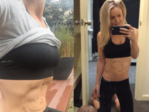 This fit mum proves that you can have a six pack and loose skin