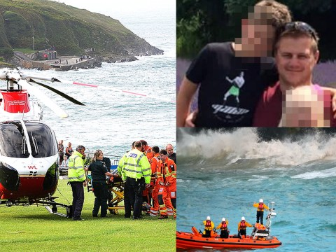 Pictured: Father who died in Newquay tragedy