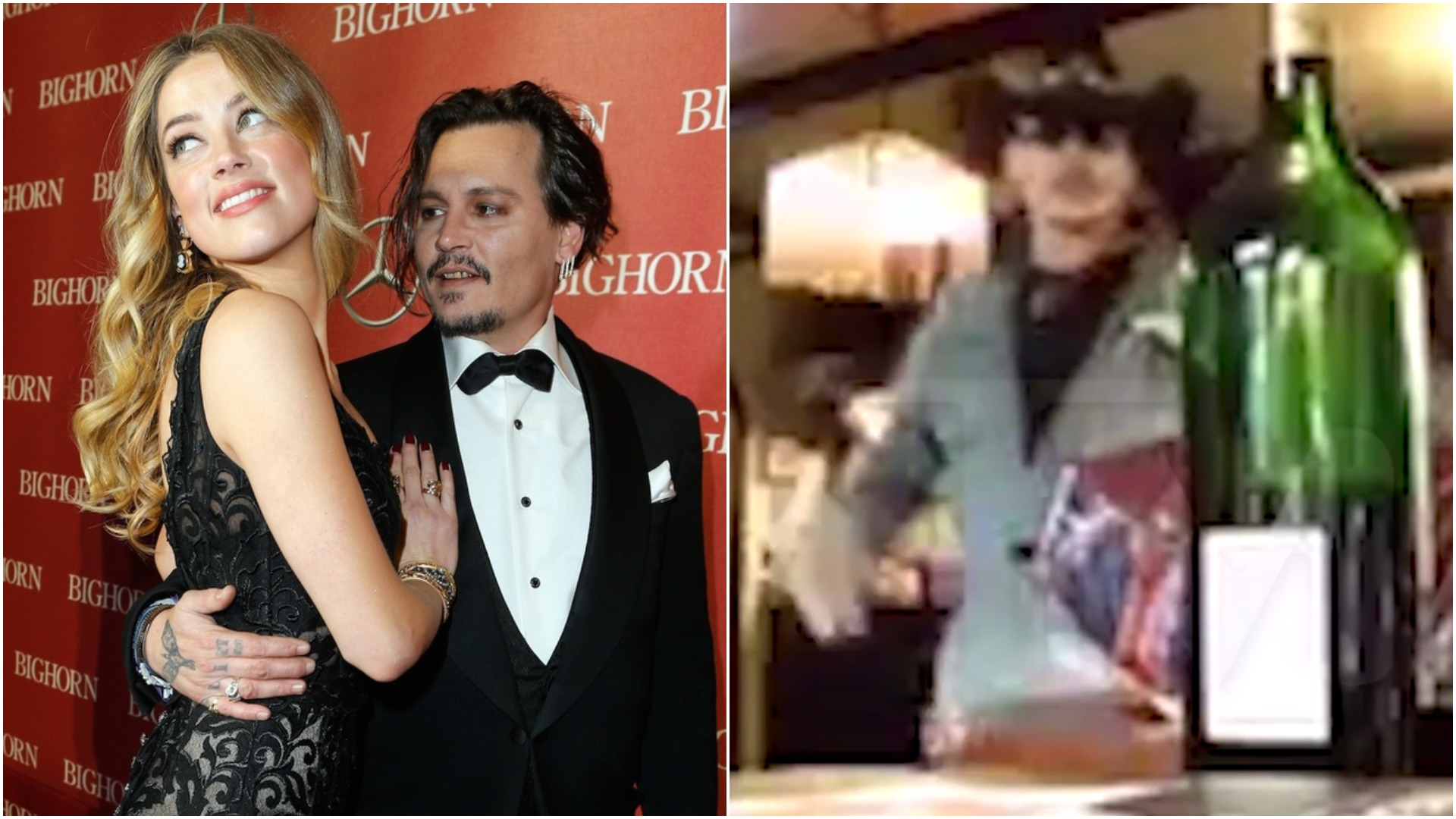 WATCH: Raging Johnny Depp crashes around his kitchen in secretly-filmed footage from Amber Heard