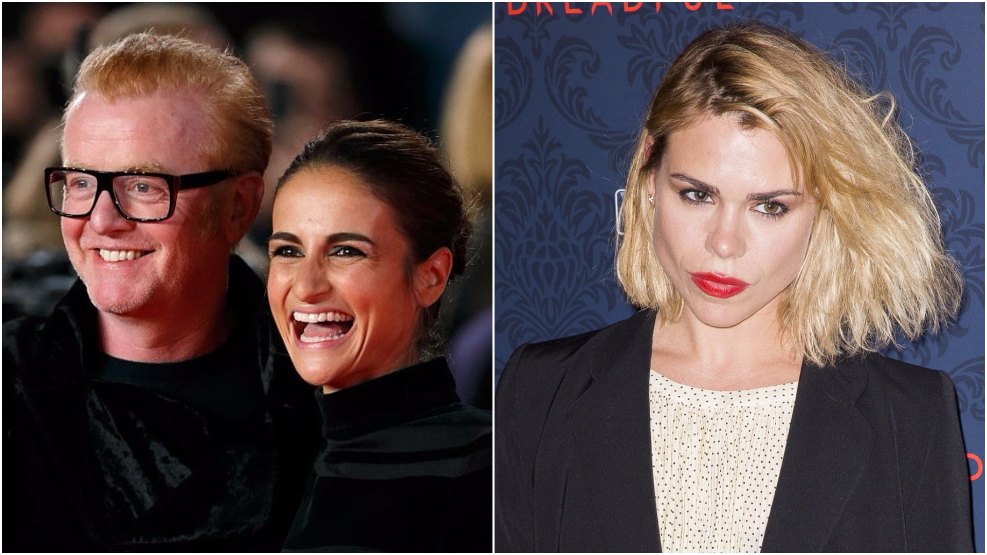 Chris Evans is keen to take Billie Piper with him on his anniversary holiday with his wife