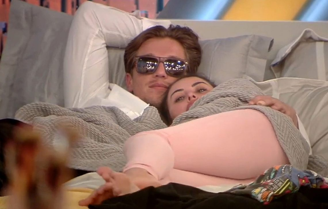 Editorial Use Only Mandatory Credit: Photo by REX/Shutterstock (5813102bd) Lewis Bloor and Marnie Simpson 'Celebrity Big Brother' TV show, Elstree Studios, Hertfordshire, UK - 01 Aug 2016