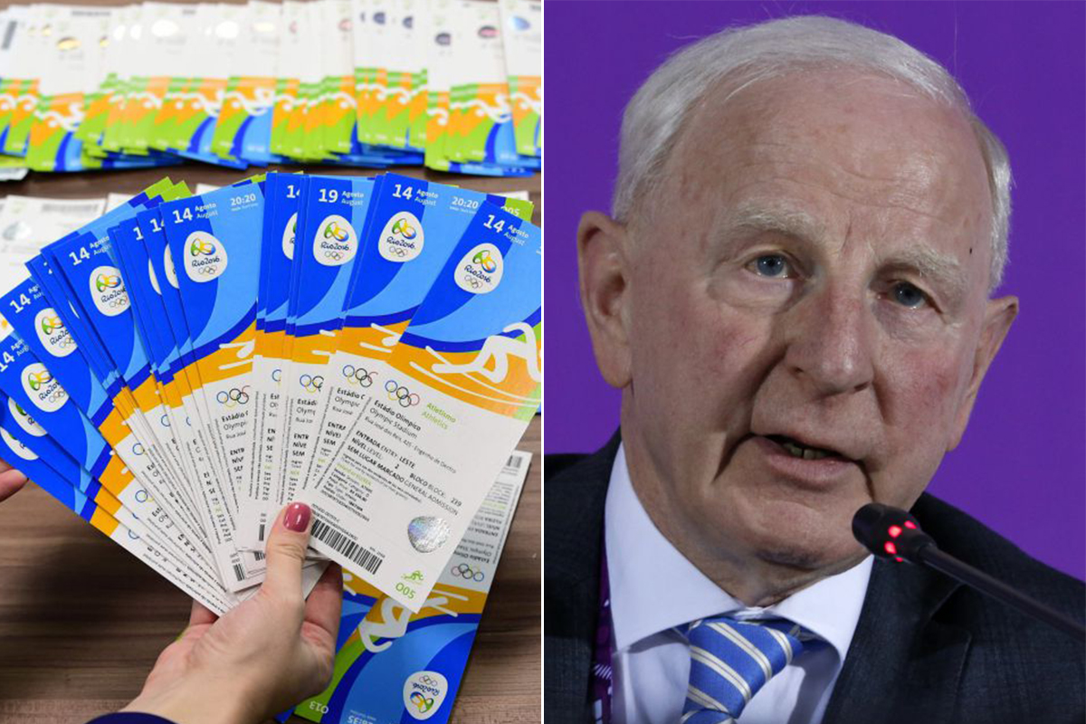 Europe's top Olympic official arrested in Rio over ticketing scam
