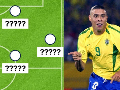 Former Brazil striker Ronaldo names his all time XI…includes Lionel Messi but leaves out Cristiano Ronaldo