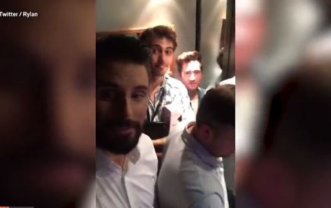 WATCH: Rylan Clark gets stuck in a lift for 45 MINUTES after first episode of The Xtra Factor