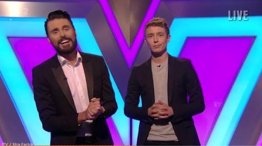 Everybody loved Rylan Clark and Matt Edmondson on the new live Xtra Factor
