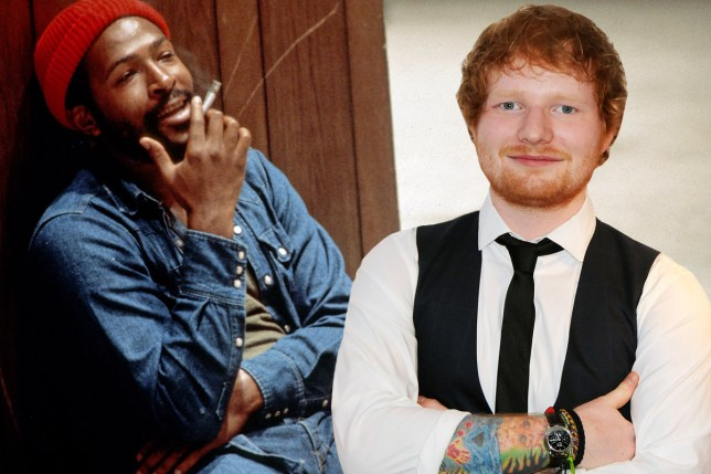 Ed Sheeren getting sued for allegedly copying Marvin Gaye song