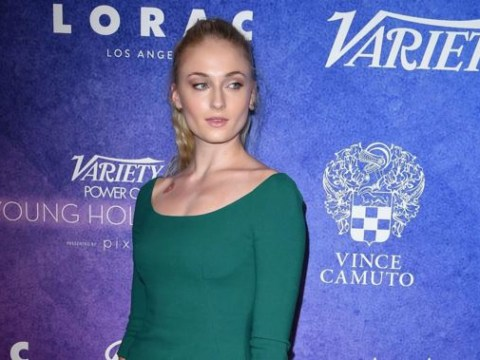 Sophie Turner shares Huntsville set photo – but is that a dire wolf on her arm?