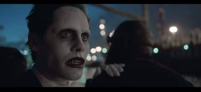 Jared Leto's Joker features in the latest music video from Skrillex and Rick Ross (Picture: YouTube)