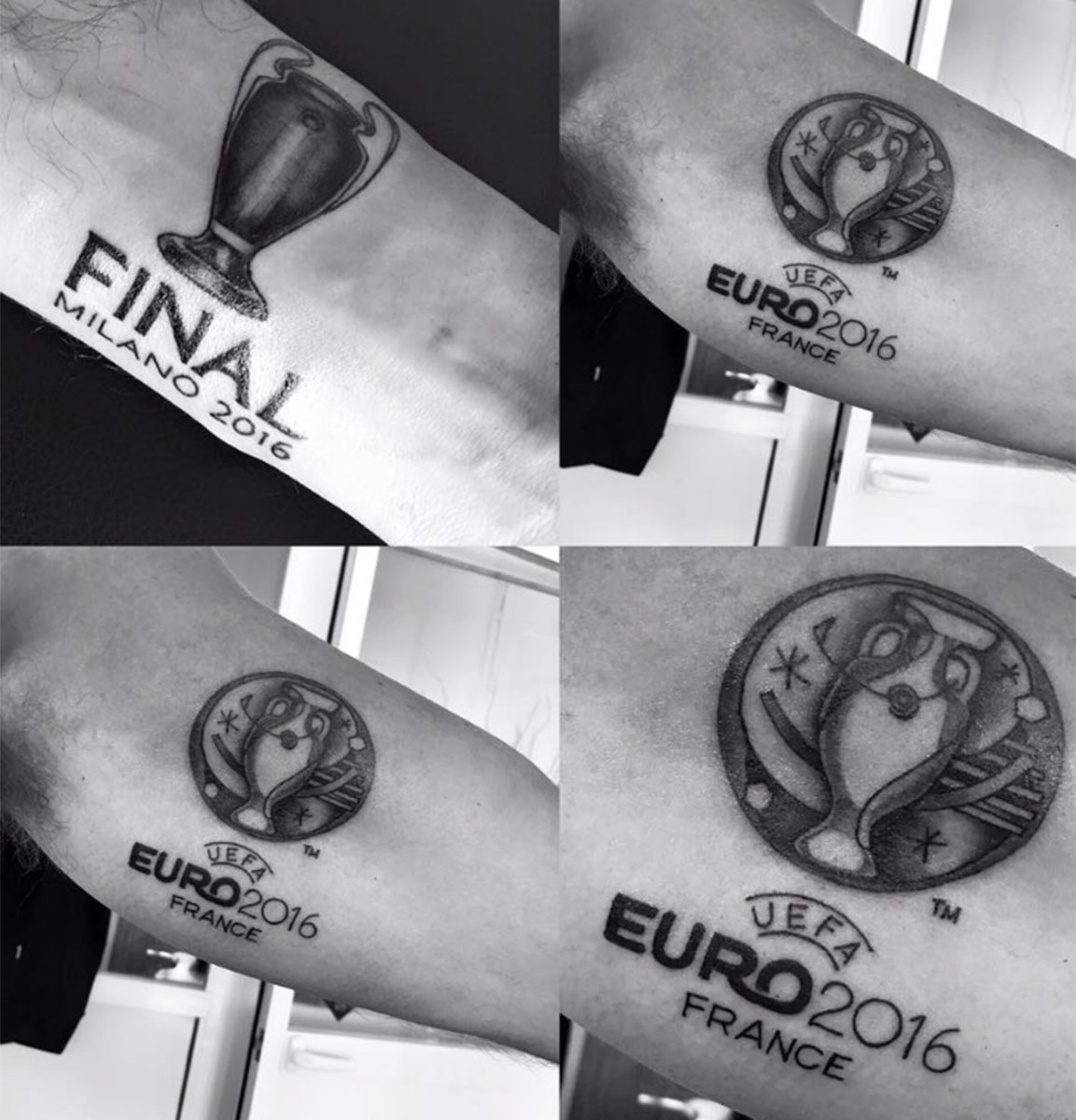 Mark Clattenburg has tattooed the Champions League trophy on his arm and football fans are being very mean about it