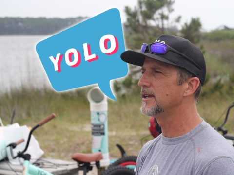 This man owns YOLO but he says we're using the term incorrectly