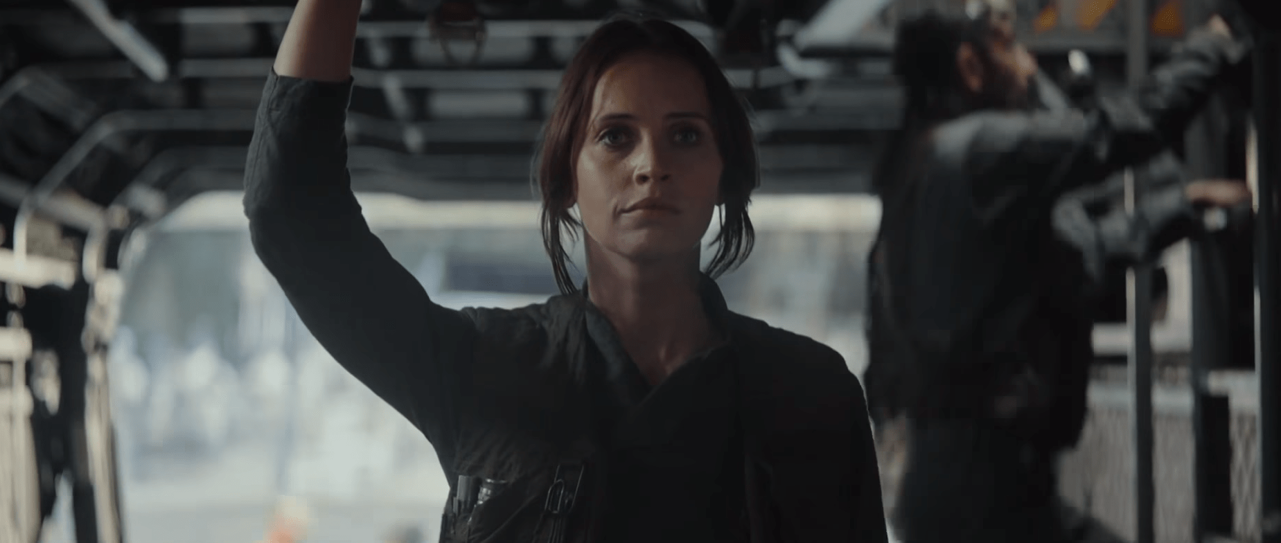 Jyn Erso's dad has been up to no good (Picture: Lucasfilm)