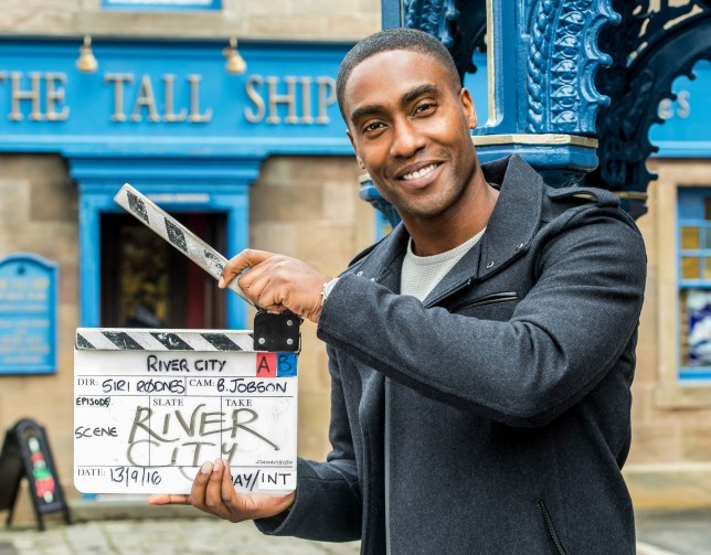 WARNING: Embargoed for publication until 00:00:01 on 15/09/2016 - Programme Name: River City - TX: n/a - Episode: n/a (No. n/a) - Picture Shows: Simon Webbe - (C) BBC Scotland - Photographer: Alan Peebles