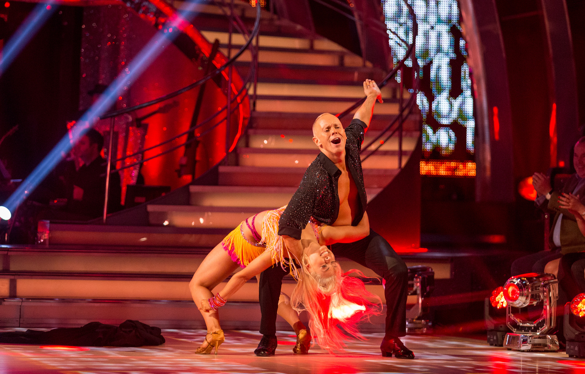 Strictly Come Dancing's Judge Rinder is getting help with his dance face – from Benedict Cumberbatch