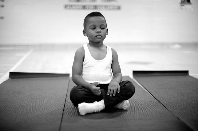 School replaces detention with meditation and the results were incredible Credit: Holistic Life Foundation