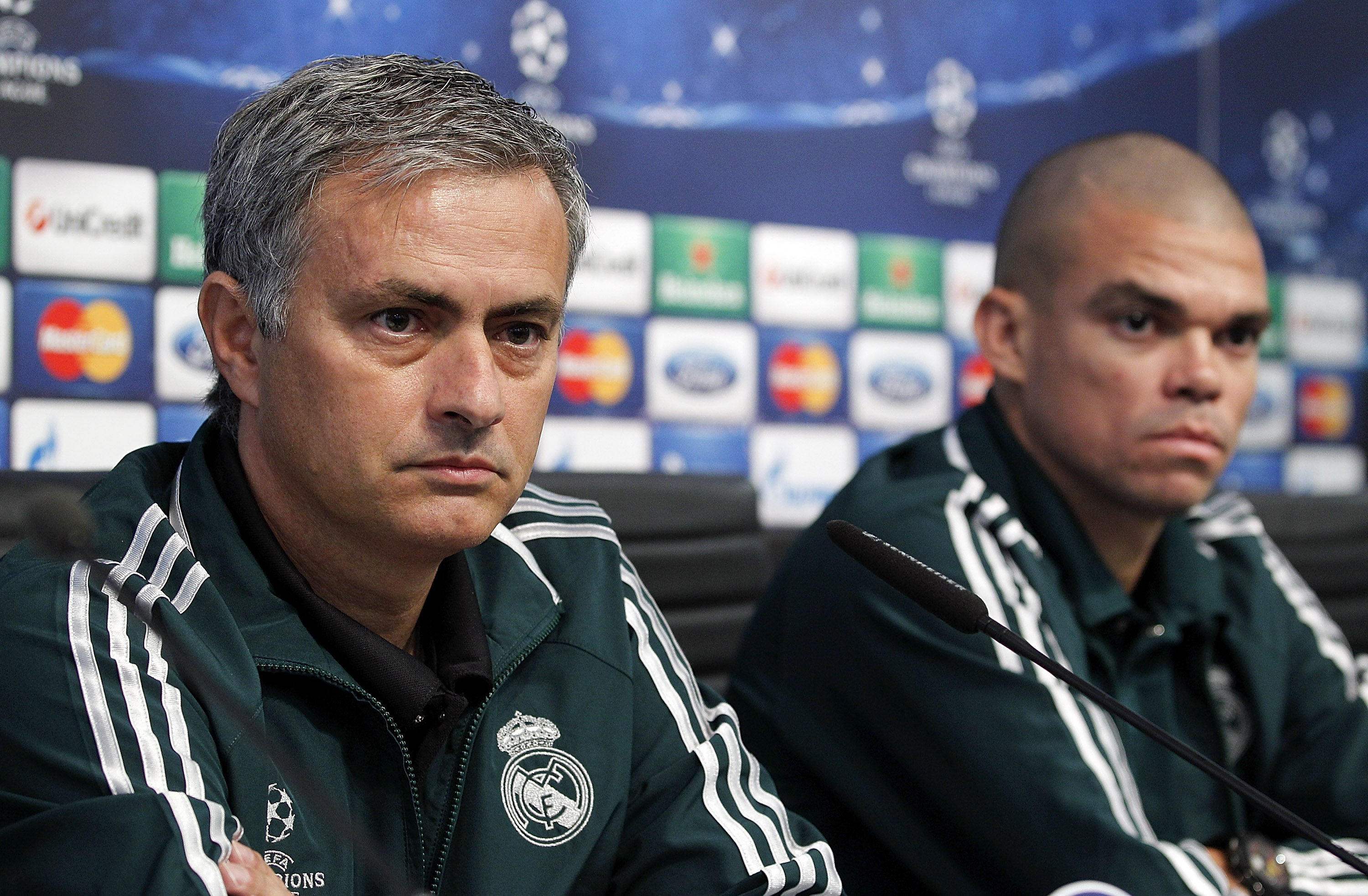 Real Madrid defender Pepe angry Jose Mourinho turned people against the club during his reign
