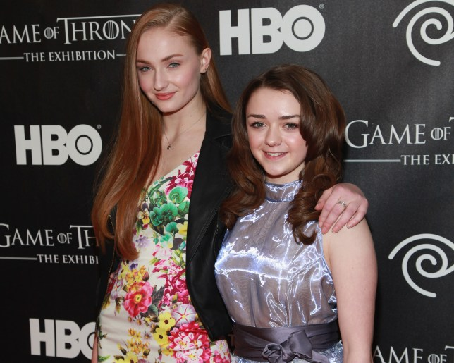 Maisie is big friends with Sophie Turner (Picture: Taylor Hill/FilmMagic)