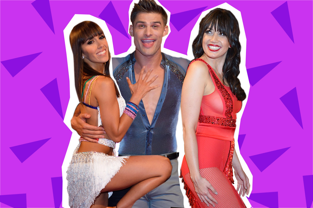 Daisy Lowe wants a three-way with Strictly's Alijaz and Janette