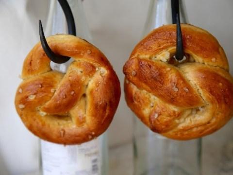 Make this giant soft pretzel recipe to celebrate Oktoberfest