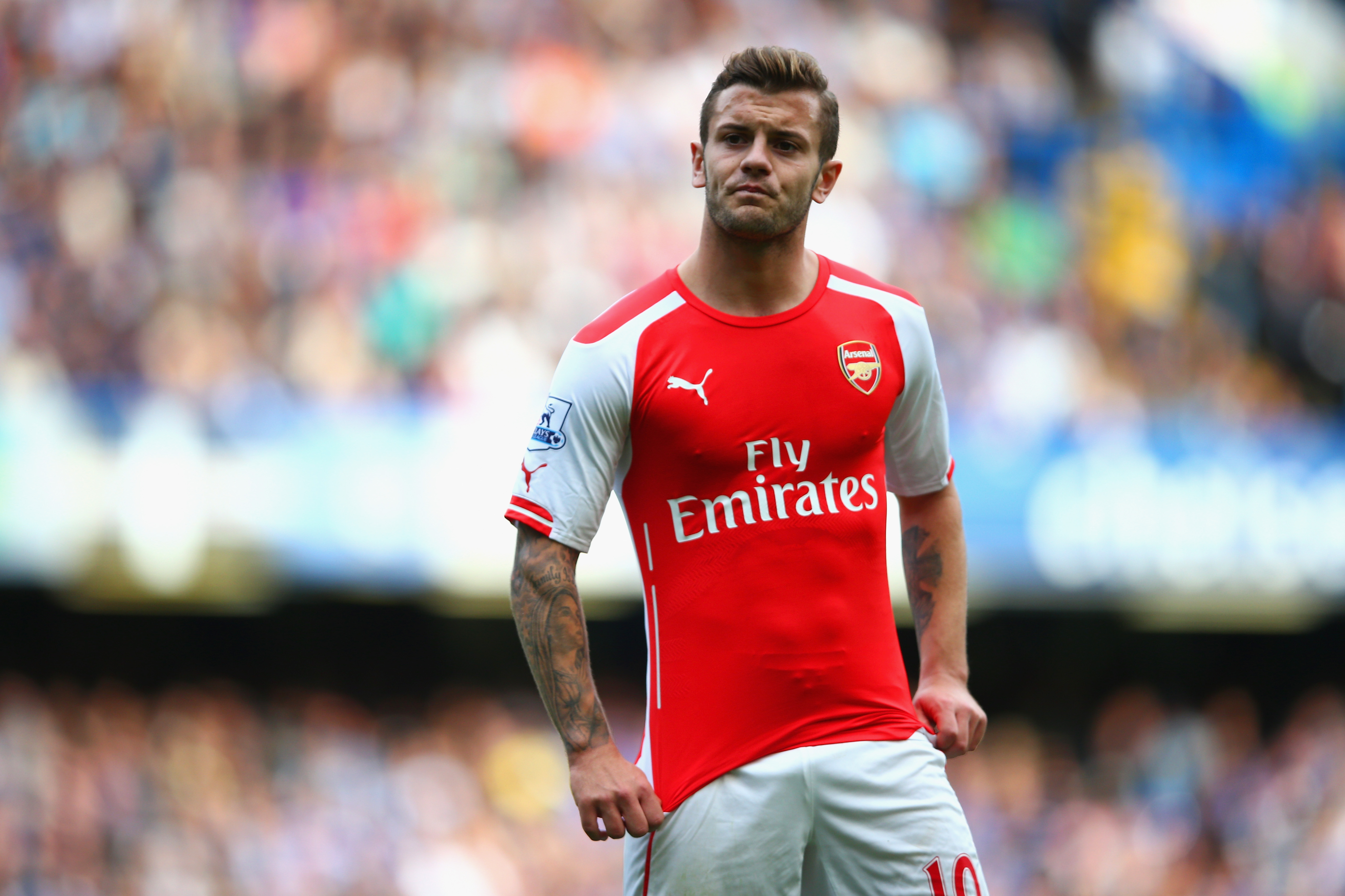 Abou Diaby, Jack Wilshere and Arsenal lead the way in days missed through injury of Premier League players