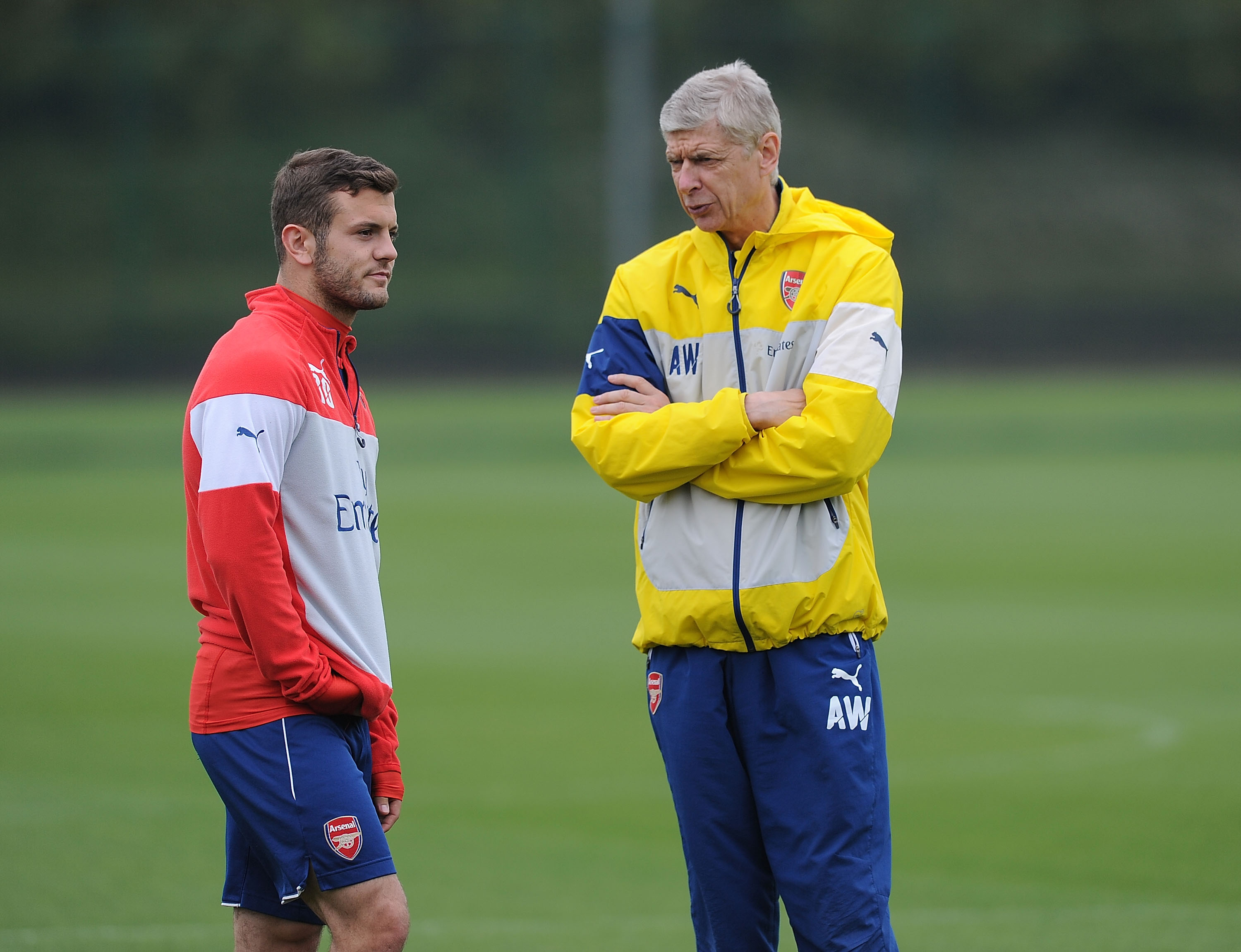 Arsenal manager Arsene Wenger predicts Jack Wilshere will one day be captain and manager of the club