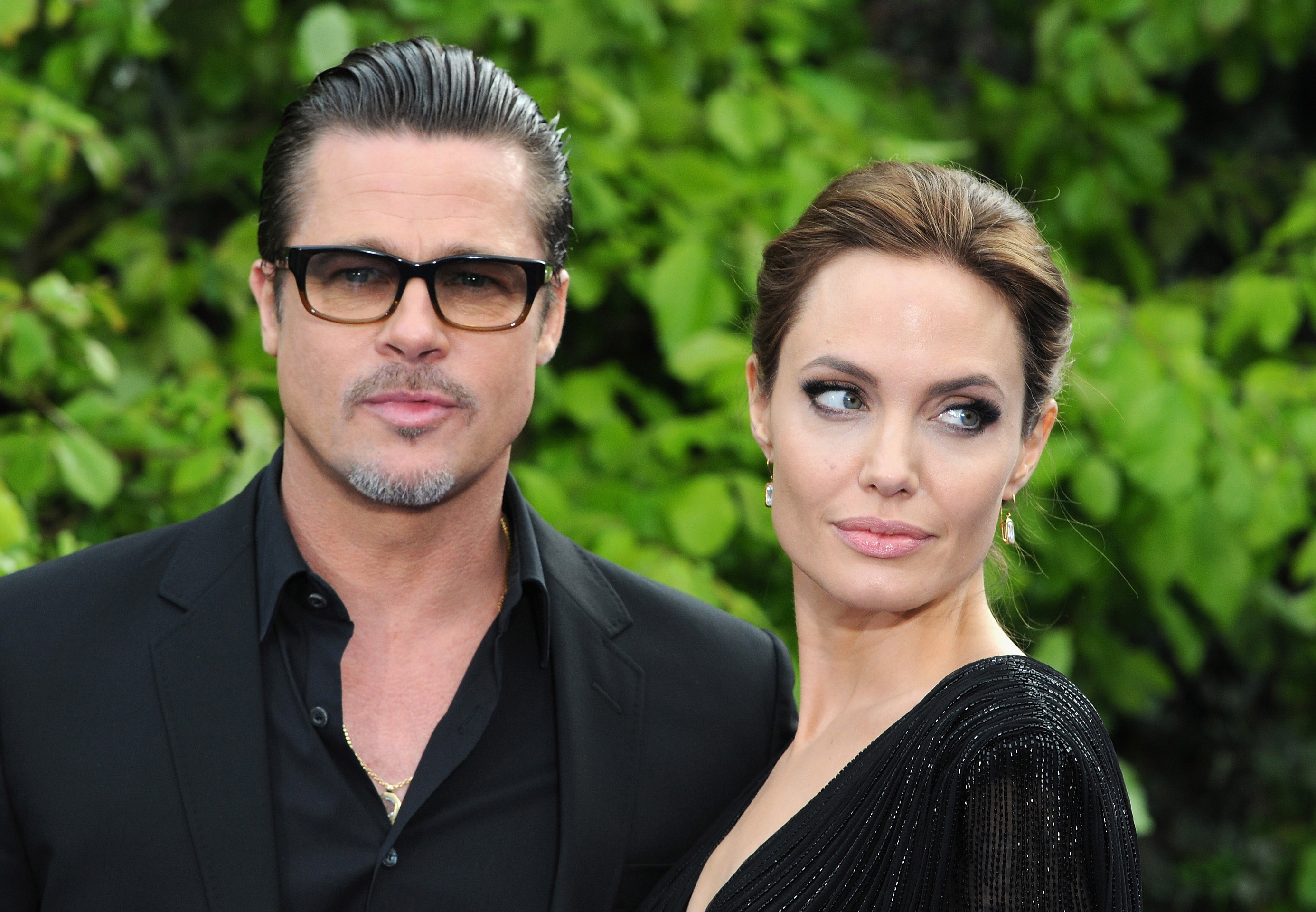Brad Pitt and Angelina Jolie are divorcing (Picture: Getty)