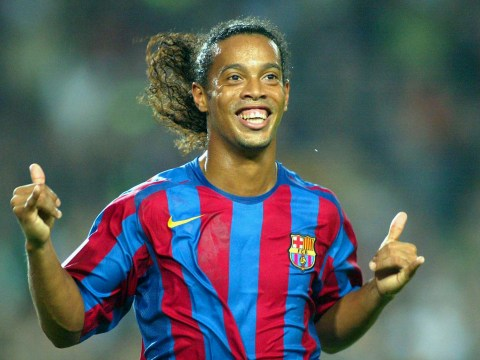 Ronaldinho snubs Messi AND Ronaldo when naming his football legends