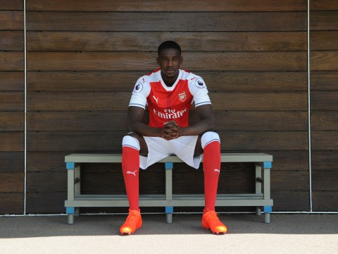 Yaya Sanogo, Carl Jenkinson and Mathieu Debuchy all included in Arsenal's 2016/17 squad