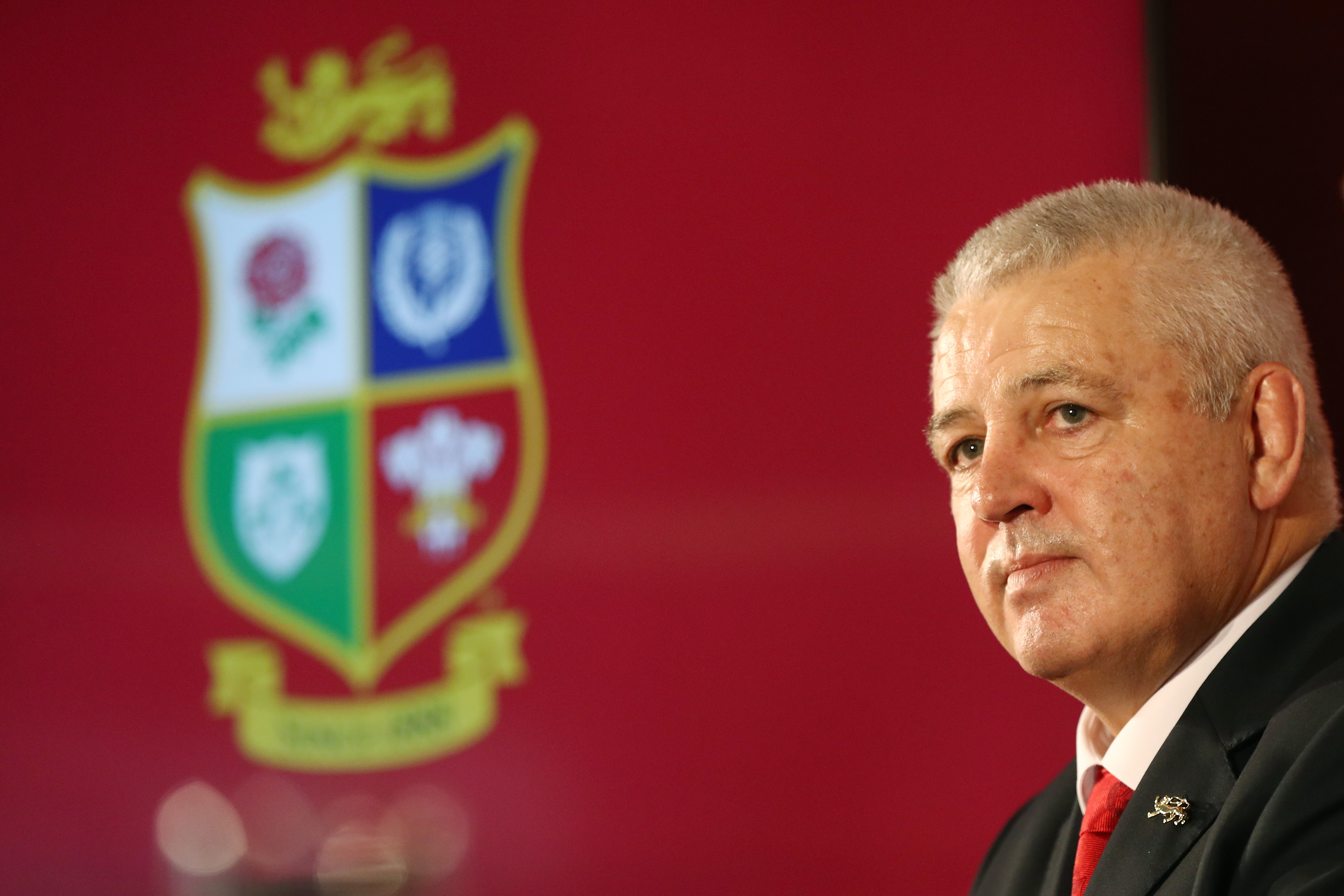 Warren Gatland is '100% confident' the Lions can beat New Zealand after being named coach