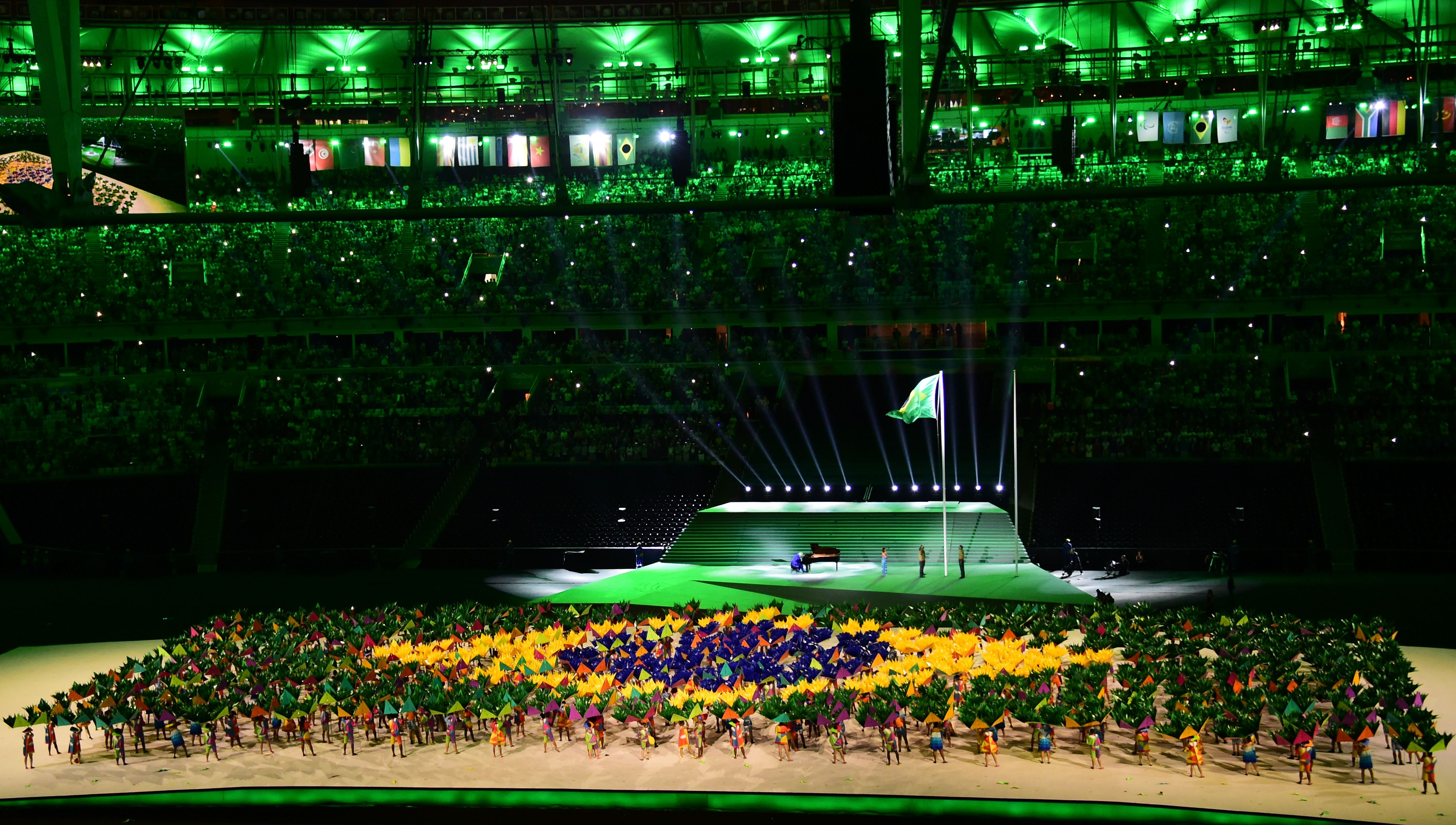In pictures: Rio kick off 2016 Paralympics in spectacular fashion