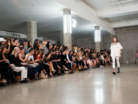R13 sent a pretty strong message to Donald Trump on their New York Fashion Week runway