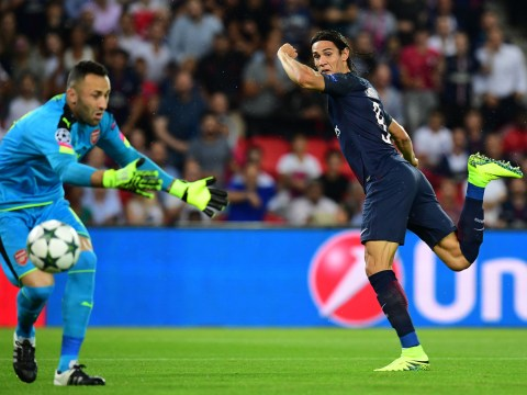 David Ospina's Champions League career with Arsenal perfectly summed up in one picture
