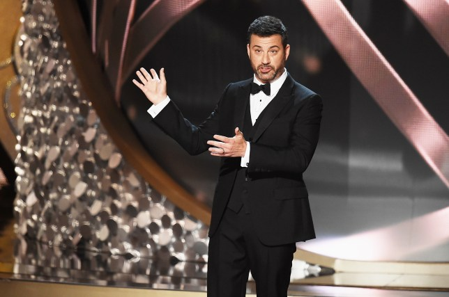 Jimmy Kimmel did a stunning job hosting the 68th Annual Primetime Emmy Awards in Los Angeles (Picture: Kevin Winter/Getty Images)