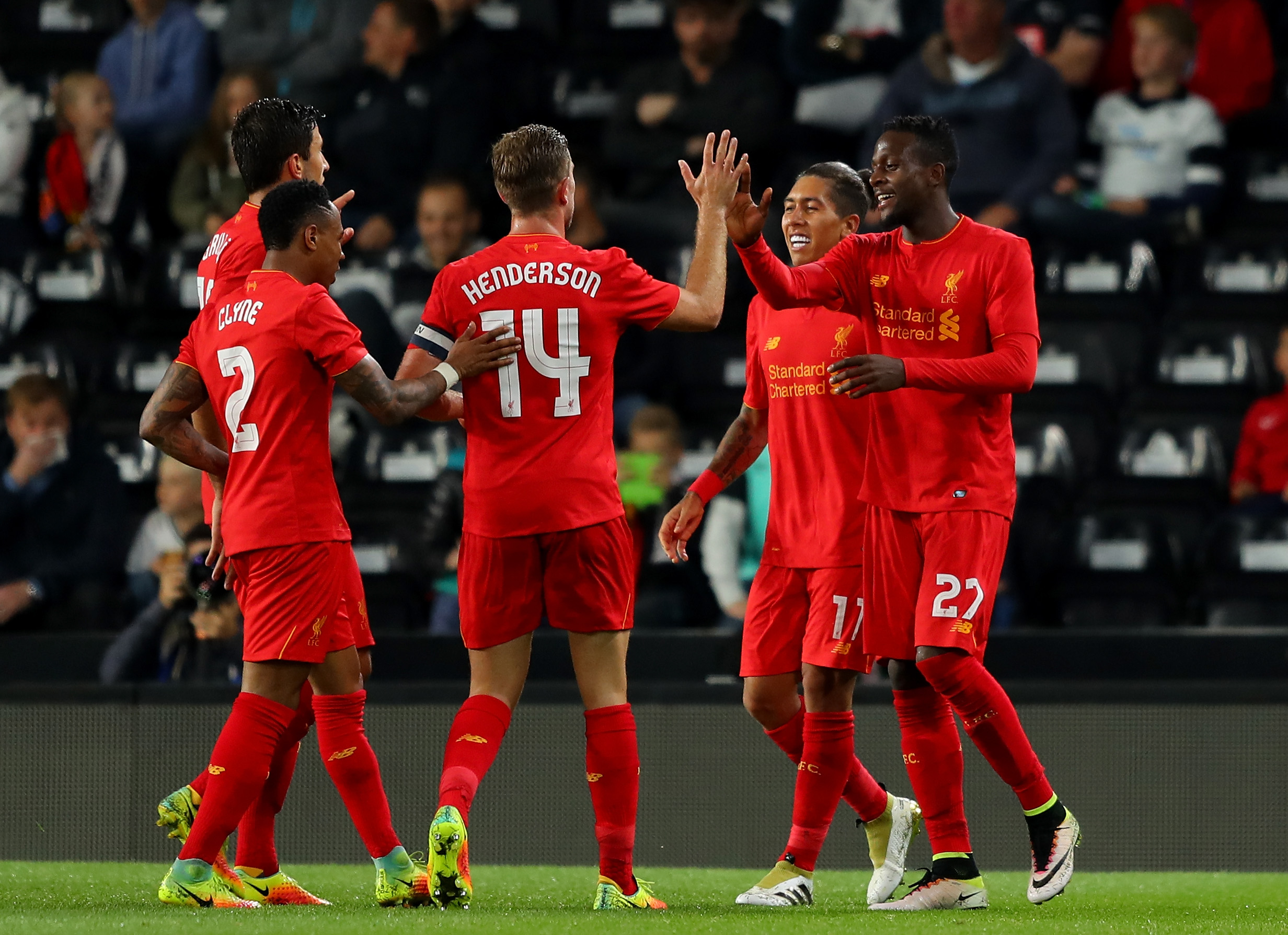 Derby 0-3 Liverpool: Jurgen Klopp's side cruise to victory over Championship opposition