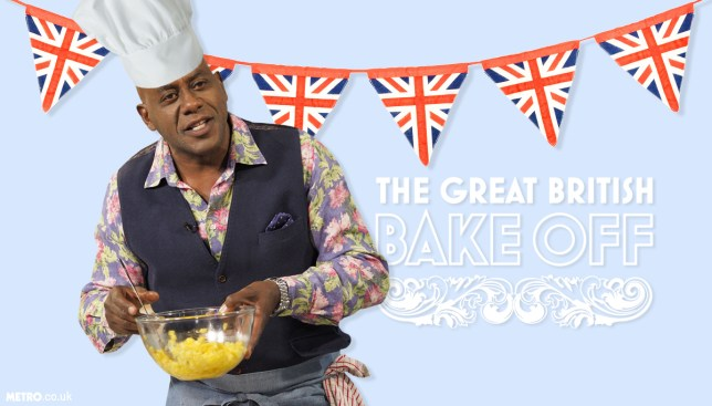 There's a petition to make Ainsley Harriott the new presenter of Bake Off Credit: REX/Getty