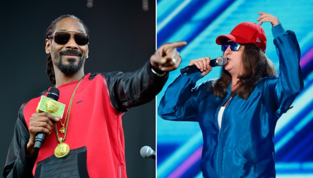 Snoop Dogg is a BIG fan of X Factor's Honey G (Picture: Getty Images/PA)