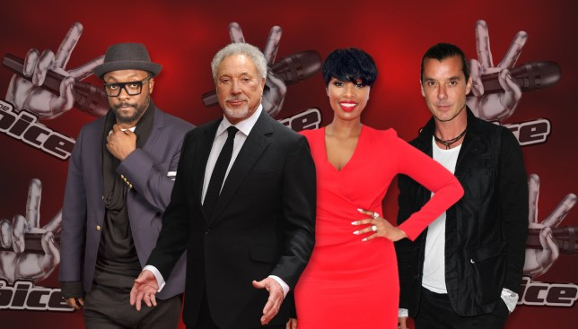 Your 2016 The Voice presenters (Picture: REX_