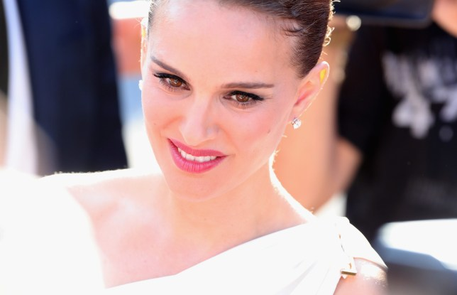 Natalie Portman has featured in a cheeky new image from her film Planetarium (Picture: Getty Images)