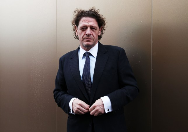 MELBOURNE, AUSTRALIA - NOVEMBER 06: Marco Pierre White poses at the Melbourne Cup at Flemington Racecourse on November 6, 2012 in Melbourne, Australia. (Photo by Don Arnold/WireImage)