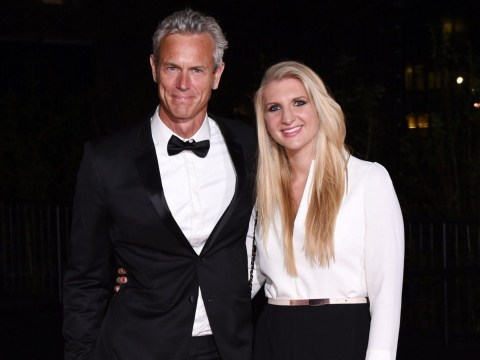 Rebecca Adlington and Mark Foster are trolling us with their cute couple appearance at the GQ Awards