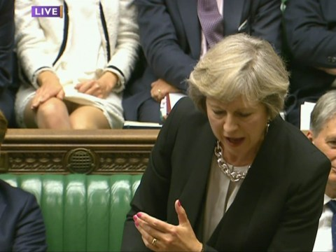 MP reminds people of Sharon Stone after switching legs during PMQs