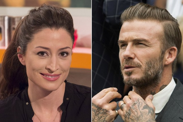 "Rebecca Loos insists she has ""no regrets"" after alleged David Beckham affair pic: Rebecca Loos and David Beckham credit: Rex Features"