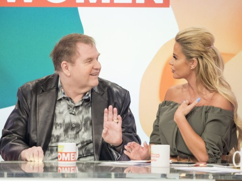 Loose Women's Katie Price tells Meat Loaf: 'I thought you were dead'