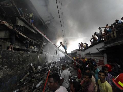 Huge blaze at Nestle packaging factory in Bangladesh kills at least 26