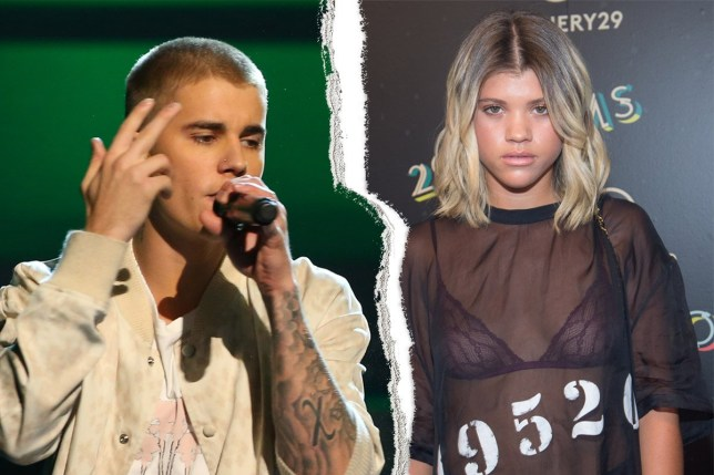 Justin Bieber splits up from his girlfriend - will he resurrect his Instagram? credit: FilmMagic/Getty Images Left: Getty Right Mark Sagliocco/FilmMagic/Getty Images