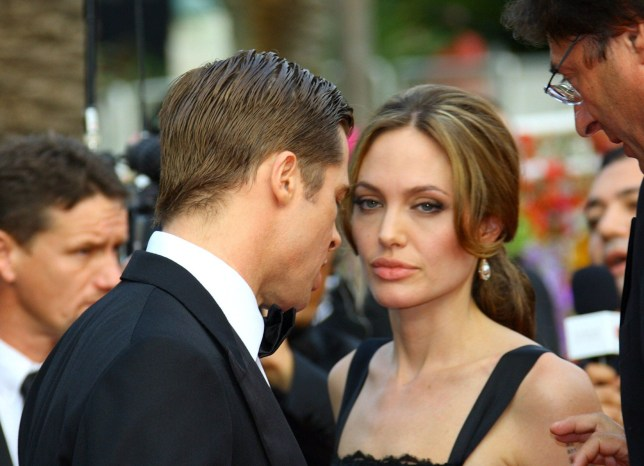 Mandatory Credit: Photo by Action Press/REX/Shutterstock (665924a) Brad Pitt and Angelina Jolie 'A Mighty Heart' film premiere, 60th Cannes Film Festival, Cannes, France - 21 May 2007