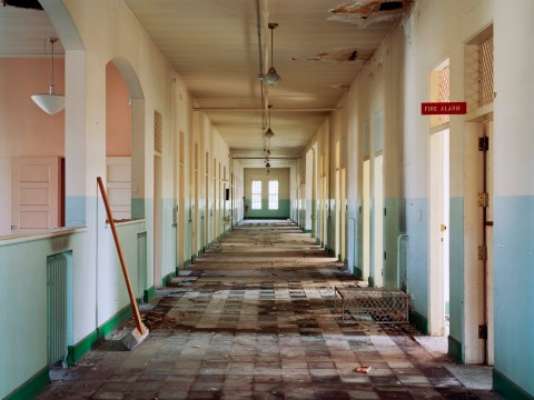 This photographer travelled to a load of abandoned mental asylums and the results are eerily beautiful