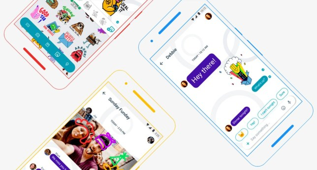 taken from Google Allo website credit: Google