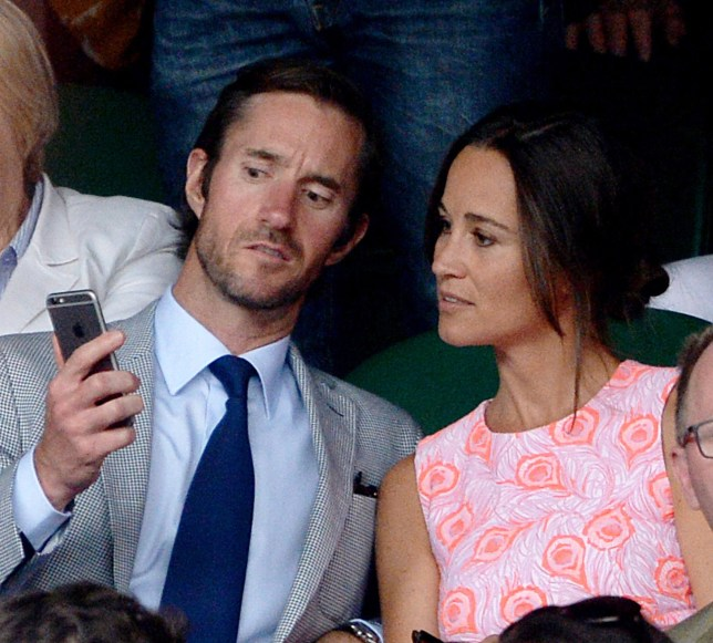 File photo dated 6/7/2016 of Pippa Middleton and James Matthews, as pictures of the Duchess of Cambridge and her children, Prince George and Princess Charlotte, are reportedly among 3,000 images stolen from Miss Middleton by computer hackers. PRESS ASSOCIATION Photo. Issue date: Friday September 23, 2016. The images, taken from an iCloud account belonging to Kate's sister and former bridesmaid, were offered to reporters by an anonymous seller via WhatsApp, The Daily Mail reported. See PA story ROYAL Pippa. Photo credit should read: Anthony Devlin/PA Wire