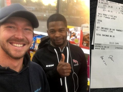 Stranger pays for man's petrol bill; inspires him to follow in his footsteps