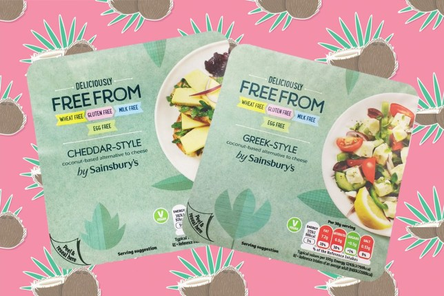 Sainsburys have launched five new vegan cheese so we obviously tried them all free-from-chees-sainburys.jpg